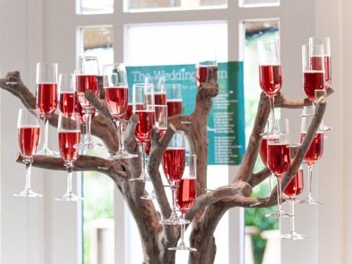 Bedrijfsevenement - champagneboom